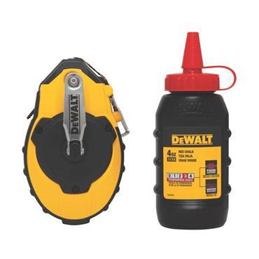 DeWALT DWHT47144 30m Reel Kit with Red Chalk