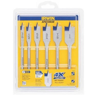 IRWIN 88886 6 Piece SpeedBor Bit Set