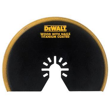 DeWALT DT20709-QZ Multi Tool Titanium Semi-Circle Blade