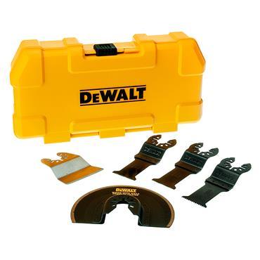 DeWALT DT20715 Multi-Tool 5 Piece Accessory Blade Kit