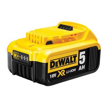 DeWALT DCB184 18 Volt XR Lithium-Ion Battery Pack, 1 x 5.0Ah Batteries