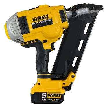 DeWALT DCN692P2 18 Volt XR Brushless Framing Nailer, 2 X 5.0Ah Batteries
