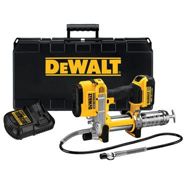 DeWALT DCGG571M1 18 Volt XR Cordless Grease Gun, 1 x 4.0Ah Batteries