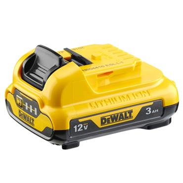 DeWALT DCB124 12 Volt Lithium-Ion Battery Pack, 1 x 3.0Ah Battery