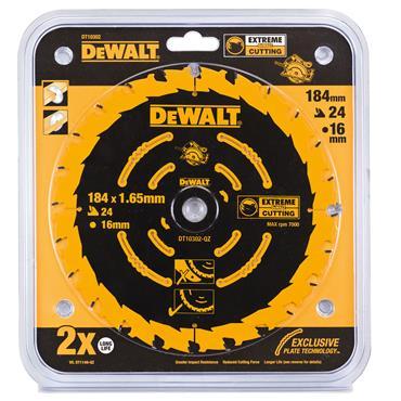 DeWALT 184 x 16 x 24T, Extreme Framing Blade - DT10302