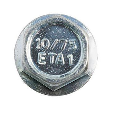 DeWALT DFM1410 10mm Blue-Tip Hex Head Concrete Screw Bolts