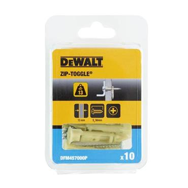 DeWALT DFM4570000 50mm Zip-Toggle with Screws - 50 Pack
