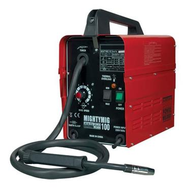 SEALEY MIGHTYMIG100 No-Gas MIG Welder 100 Amp 230V