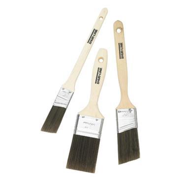 SHUR-LINE 55539 Premium Select Brushes w/ Teflon Surface Protector 3-Pack