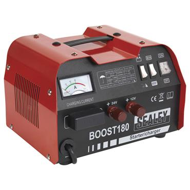 Sealey BOOST180 12/24 Volt Battery Charger/Starter