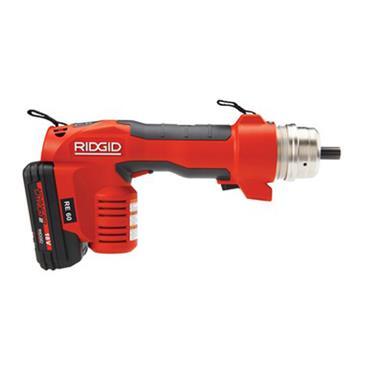 Ridgid RE 60 18 Volt Electrical Crimping Machine, 2 x 2.0Ah Batteries