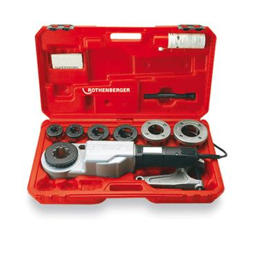 "ROTHENBERGER Supertronic 2000 Pipe Threader Set 2"" (71258)"