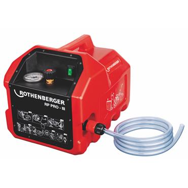 ROTHENBERGER 61181 110V RP PRO-3 Electric Test Pump