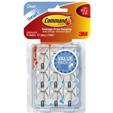 3M Command™ 17067 Small Wire Hooks, 9 Pack