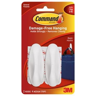 3M Command™ 17081 Medium Designer Hooks