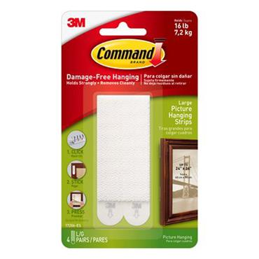 3M Command™ 17206 Large Picture Hanging Strips