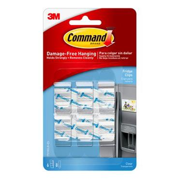3M Command™ 17210CLR Clear Fridge Clips