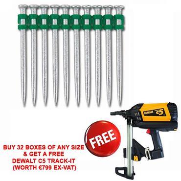 DeWALT DDF6110 C5 Trak-It Gas Nails and Pins