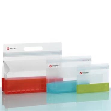 VELCRO® BRAND 93058 PRESS-LOK® Bags Variety, 3 PK