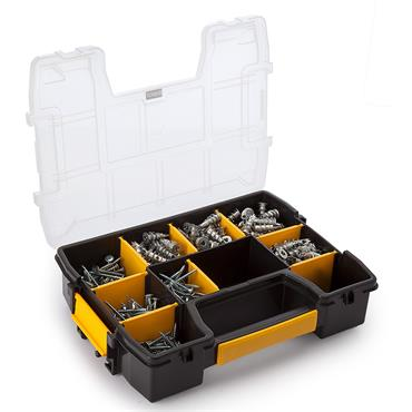 DeWALT DWSLZIPIT-GB 200 Piece Plasterboard Anchor Kit
