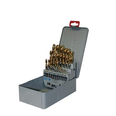 Europa 810504SET1 25 Piece Goldex Drill Set