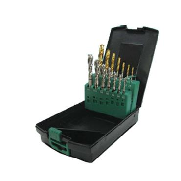 EUROPA TOOL UNIGOLDSP2 M3-M12 Spiral Point Tap & Drill Set