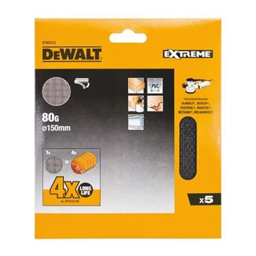 DeWALT 150mm Mesh Sanding Discs