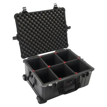 Peli 562 x 431 x 268mm Black Waterproof Protector Case - 1610