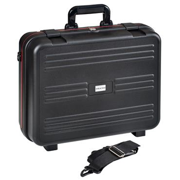 GT Line 430 x 156  x 340mm Black Polypropylene Shockproof Laptop Case - CYBERBOX