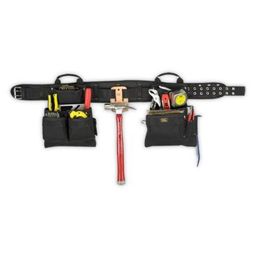 CUSTOM LEATHERCRAFT 5608 4-Piece Carpenters Combo Tool Belt