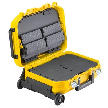 Stanley 540 x 435 x 400mm Yellow FatMax Technician Suitcase with Wheels - FMST1-72383