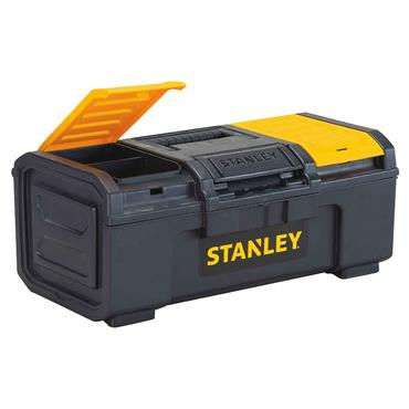 Stanley 394 x 223 x 162mm Latch Tool Box - STST16410