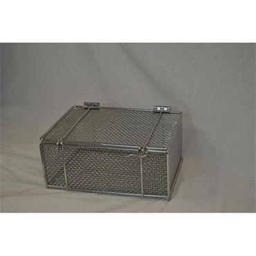 MARLIN STEEL 00-00304002-31 Part Washing Wire Basket w/ Locking Lid