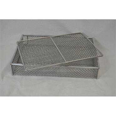 MARLIN STEEL 00-02035002-31 Mesh Basket w/ Lid