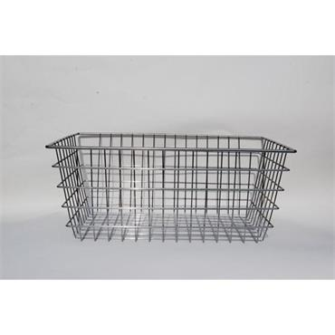 MARLIN STEEL 00-155A-12 Wire Nesting Basket, Chrome Plated