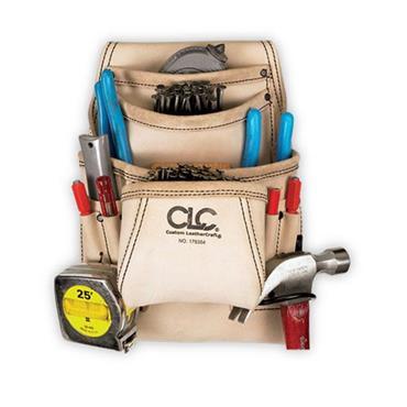 CLC 179354 10 Pocket Carpenter's Nail & Tool Bag