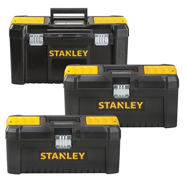 Stanley STST1 Essential Tool Box with Metal Latches
