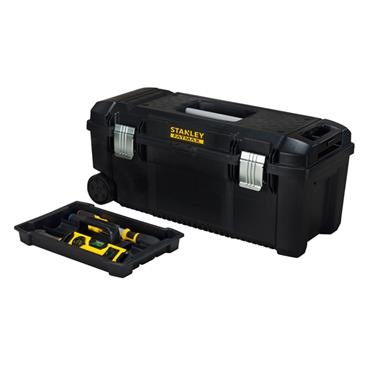 Stanley 482 x 254 x 250mm Tool Box with Wheels and Pull Handle - FMST1-75761