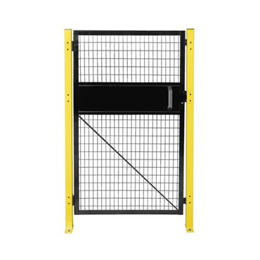FOLDING GUARD Saf-T-Fence Single Hinged Door w/ Snap Lock Swing Out