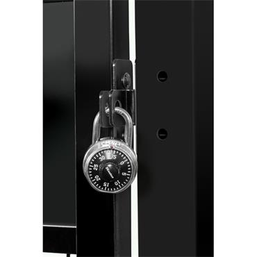 FOLDING GUARD Saf-T-Fence Hinged Door Padlock Kit