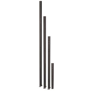 FOLDING GUARD Saf-T-Fence Universal Post with Baseplate