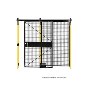 FOLDING GUARD Saf-T-Fence Drop-N-Lock Hardware Kit