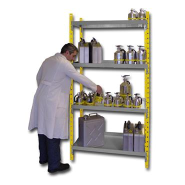 Ecosafe RRA404 Steel Safety Shelving