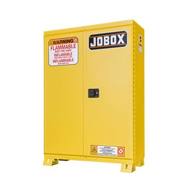 Jobox 1-856990 Heavy-Duty Safety Flammable Cabinet