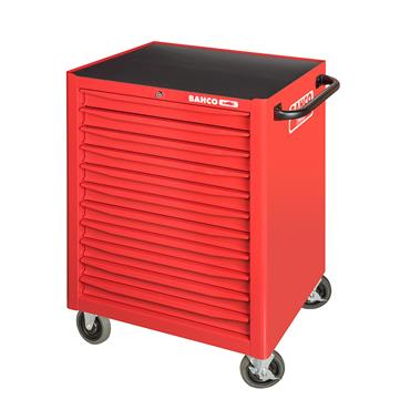 Bahco 1471K11 11-Drawer Red Tool Trolley Cabinet