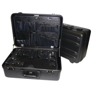Chicago Case Black Magnum Indestructo Tool Case