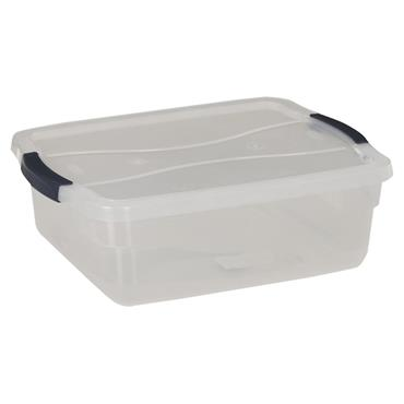 Rubbermaid 611808 14 Litre Storage Tote with Latching Lid