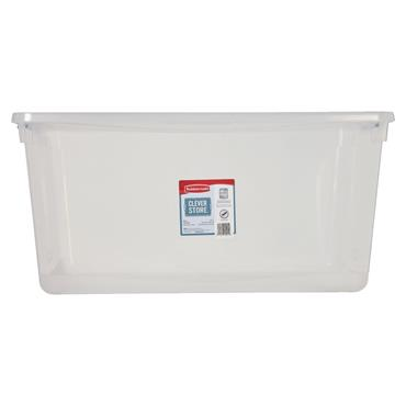 Rubbermaid 615889 90 Litre Storage Tote with Latching Lid