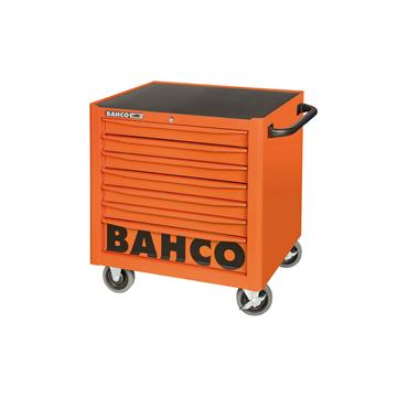 Bahco 1470K7LH 7-Drawer Orange Low Height Tool Trolley Cabinet