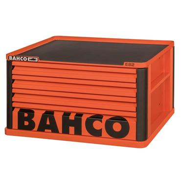 Bahco E82 1482K4 4-Drawer Orange Top Chest for E72 Trolleys